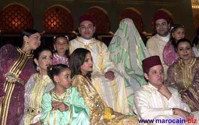 le mariage de roi mohamed 6